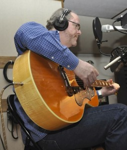 Kevin O'Donnell in the studio
