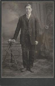 Charles Fagan (b.1856 - d.1937) taken 1875