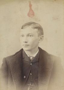 Cornelius Condy Fagan (b.1872 - d.1943) taken 1887