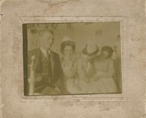 Dr. Benjamin Werner (b.1890 - d.1961) and staff taken 1914 Ferdinand, IN